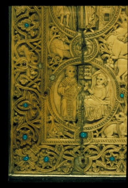 Visiting the sick from BL Eg 1139, Lower cover