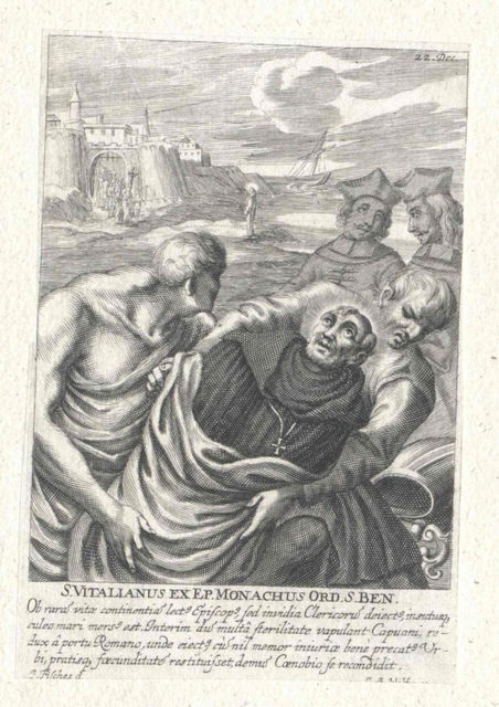 Vitalianus, Bischof von Capua, Heiliger