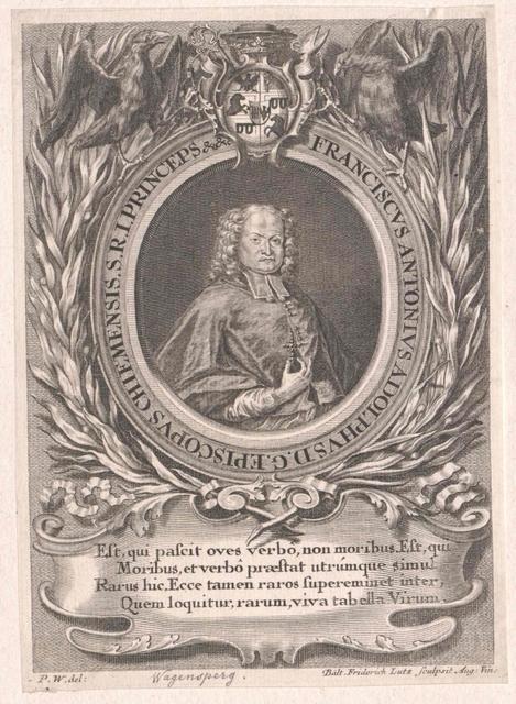 Wagensperg, Franz Anton Adolf Graf Bischof von Seckau