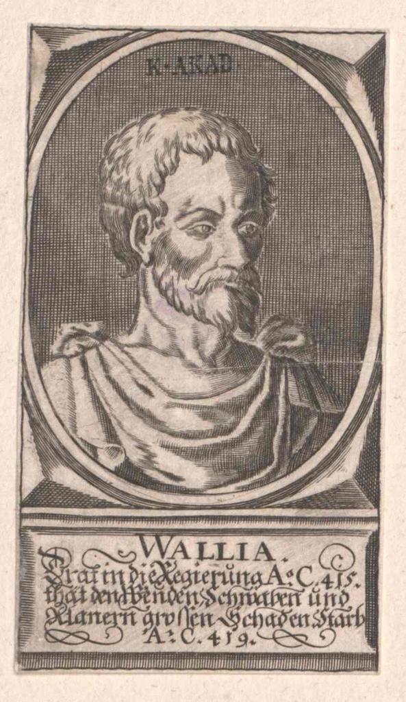 Wallia, König der Westgoten