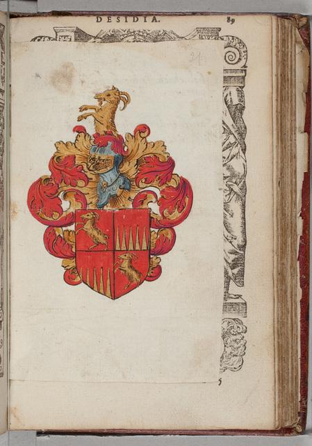 Wapen / van N.N. voor Leo of Johan Roelofs