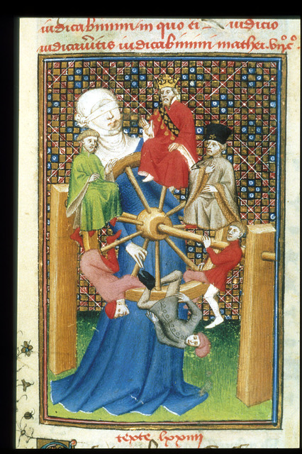 Wheel of Fortune from BL Harley 4431, f. 129
