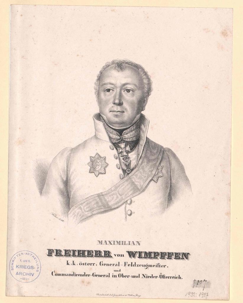 Wimpffen, Maximilian Freiherr