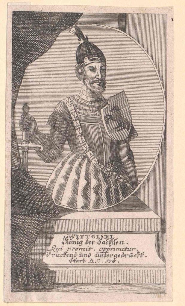 Wittgisel, König der Sachsen