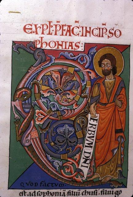 Zephaniah from BL Harley 2803, f. 279v