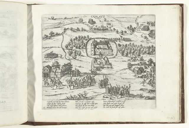 Aftocht van de hertog van Saksen uit Schloss Erprath, 1585