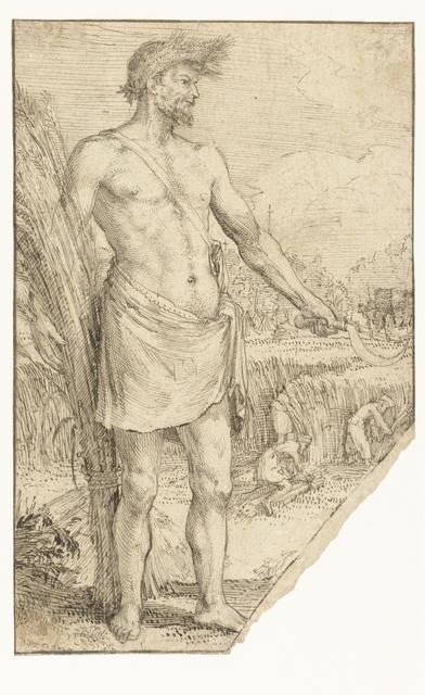 Allegorische figuur, Zomer (?)