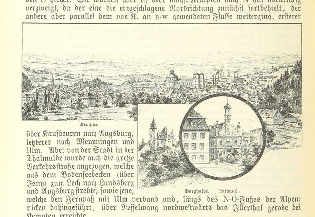 """Allgäu from """"Geographisch-historisches Handbuch von Bayern"""""""