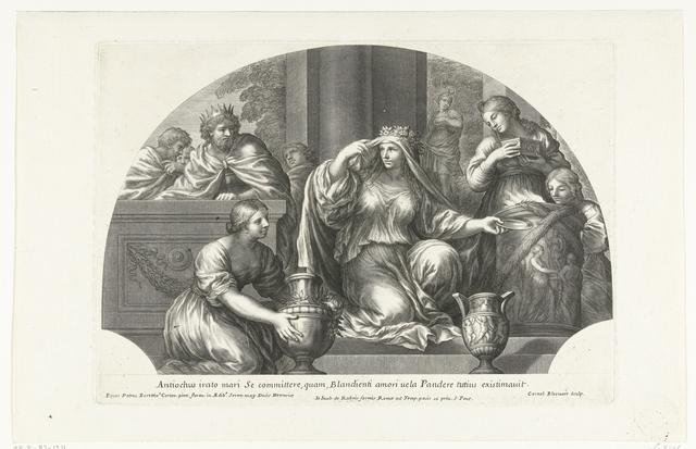 Antiochus verliefd op Stratonica