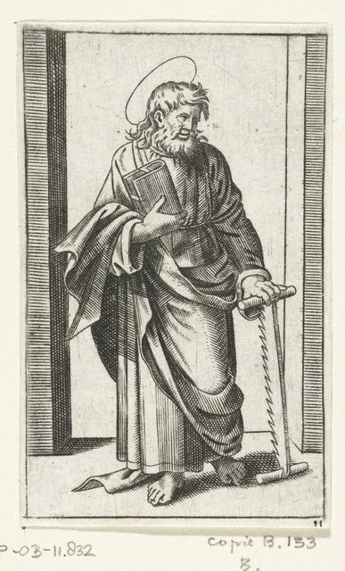 Apostel Simon Zelotes met zaag