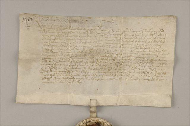 avlatsbrev av pergament