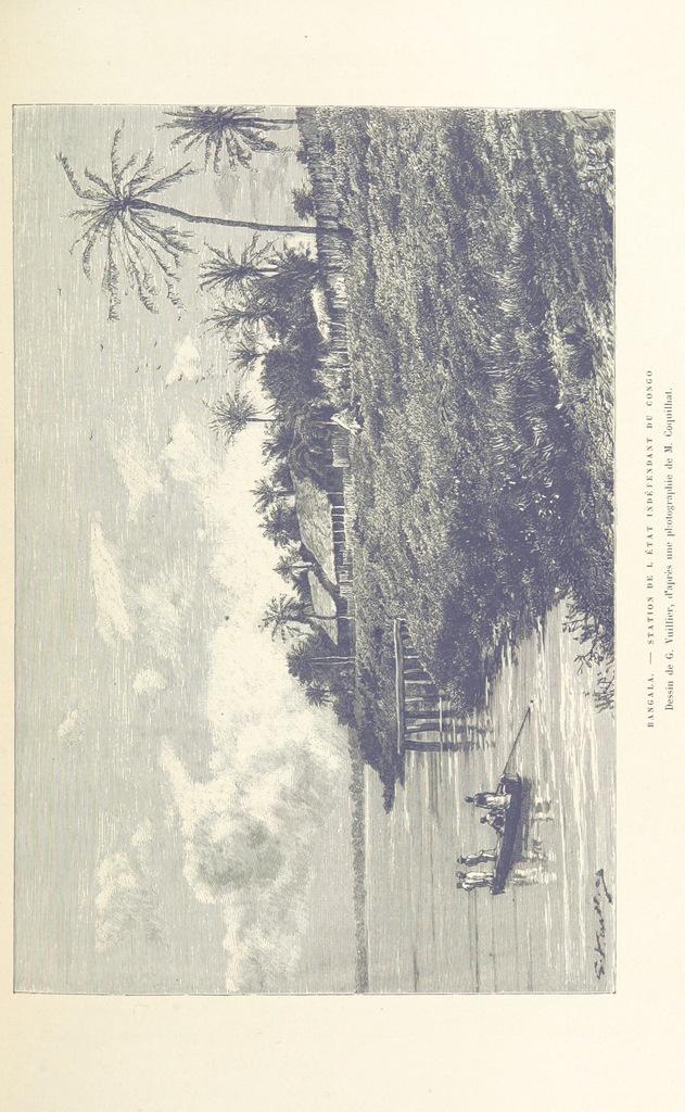 """Bangala from """"Nouvelle Géographie universelle. La terre et les hommes. [With illustrations.]"""""""