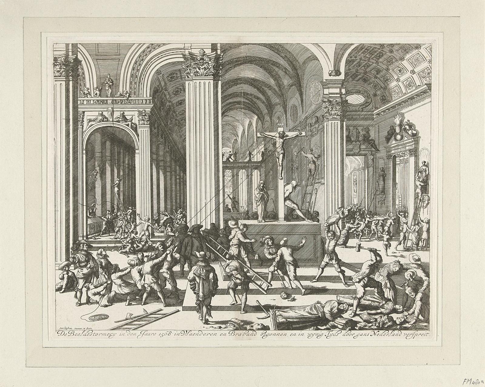 Beeldenstorm, 1566