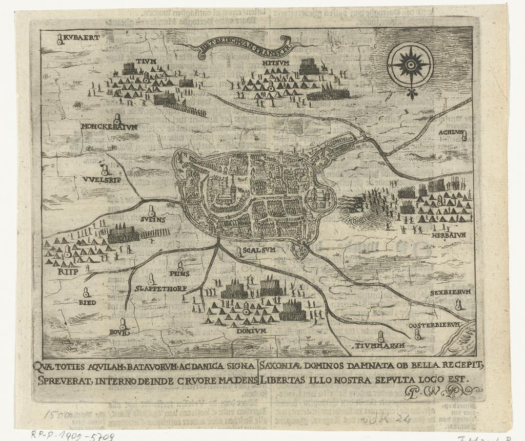 Beleg van Franeker, 1500