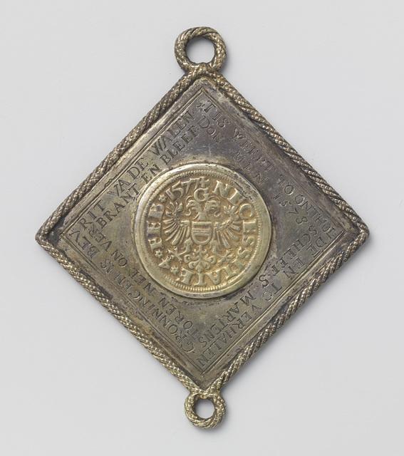 Beleg van Groningen, historiepenning vervaardigd uit een koningsdaalder