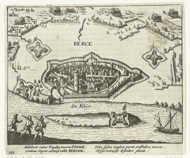 Beleg van Rheinberg door keurvorst Ernst van Beieren, 1586