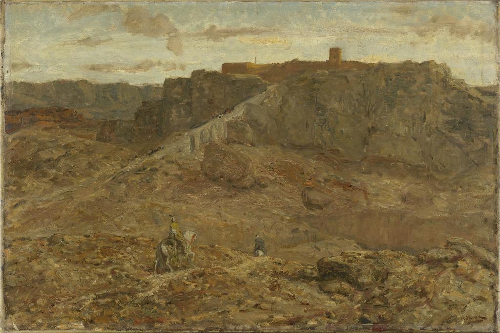 Berglandschap in Egypte