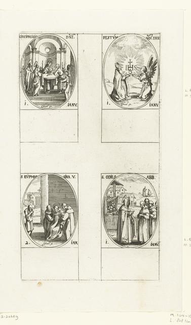 Besnijdenis van Christus, Verering van Christus' naam, Heilige Odilo van Cluny, Heilige Euphrosina van Alexandrië (1-2 januari)