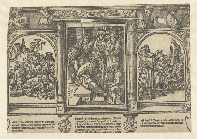 Bespotting van Christus, van Noach en van Elisa