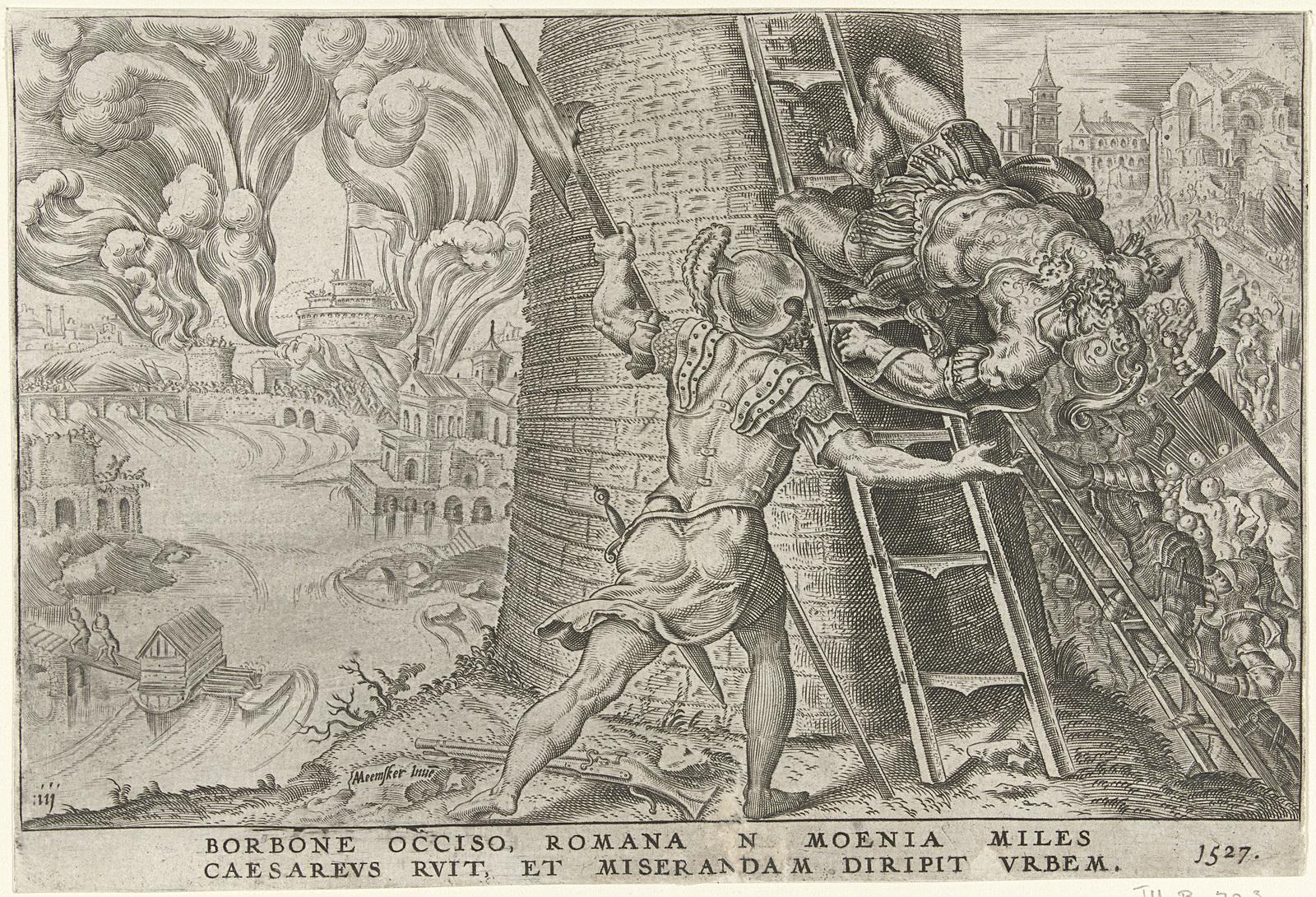 Bestorming van Rome, 1527