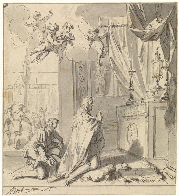 Bezoek van aartshertog Maximiliaan van Oostenrijk aan de Heilige Stede
