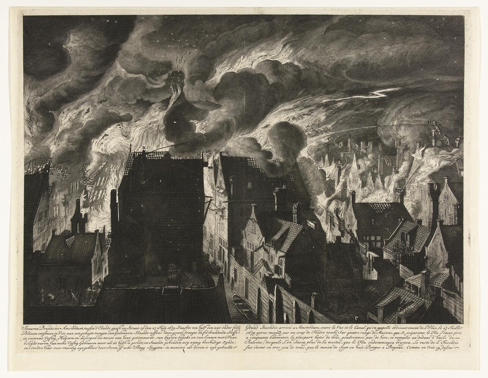 Brand op de Elandsgracht in Amsterdam, 1679