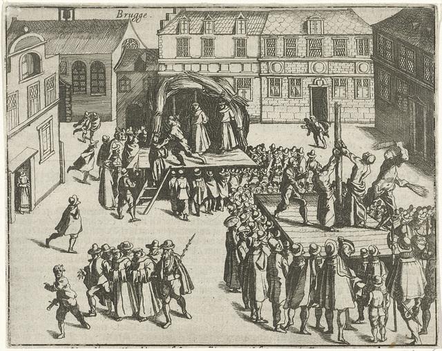 Brugse monniken op de brandstapel, 1578