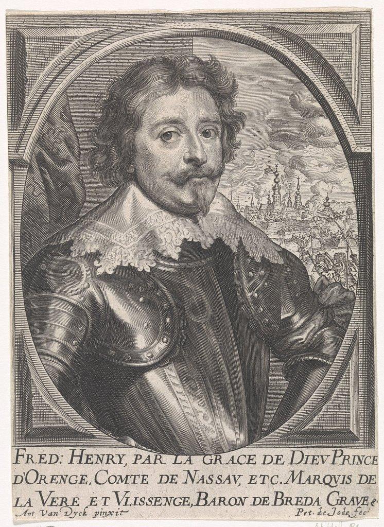 Busteportret Van Frederik Hendrik Prins Van Oranje Nassau