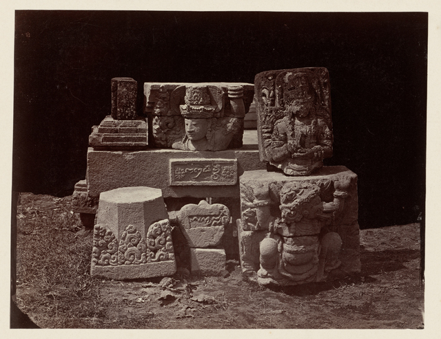 Candi Panataran (Temple Complex), architectural and sculptura;l remains. Panataran, Blitar district, East Java province, 1323-1347 AD Indonesia