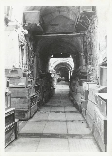 Certosa di Pavia Veduta dell'Ingresso