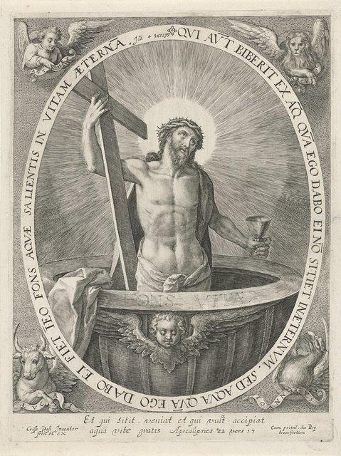 Christus als fontein des levens (Fons Vitae)