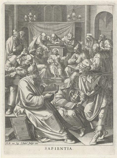 Christus te midden van de leraren: wijsheid