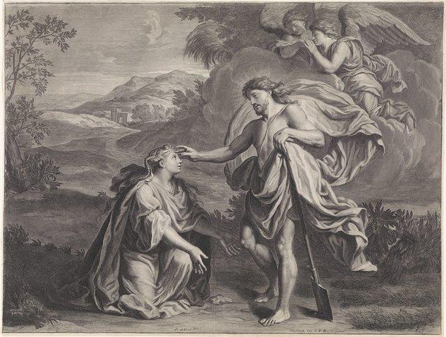 Christus verschijnt als tuinman aan Maria Magdalena (Noli me tangere)