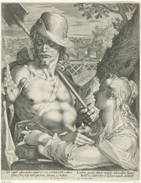 Christus verschijnt als tuinman aan Maria Magdalena (Noli mi tangere)