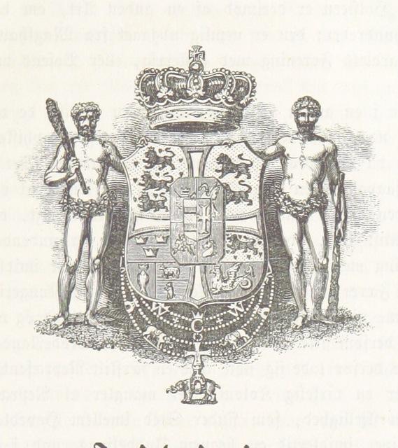 """coat of arms from """"Den danske Stat, en almindelig geographisk Skildring for Folket. Med mange Illustrationer"""""""