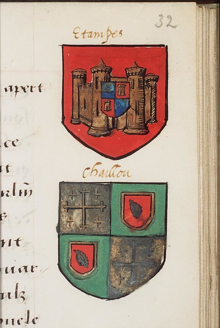 Coat of arms of Chaillou (2nd of 2)