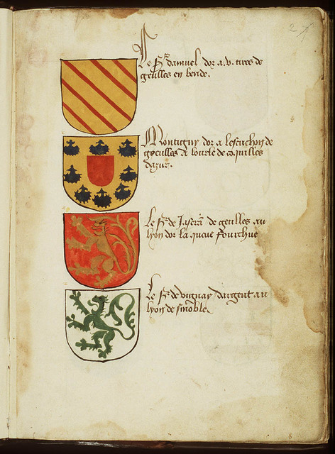 Coat of arms of the Lord Damuel
