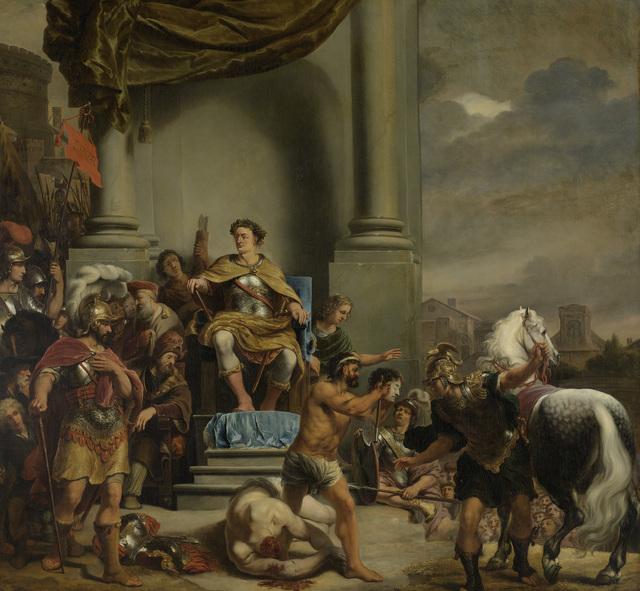Consul Titus Manlius Torquatus Orders the Beheading of his Son