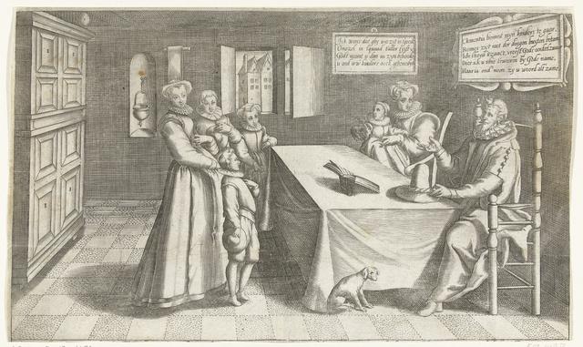 De goede huisvader, ca. 1600