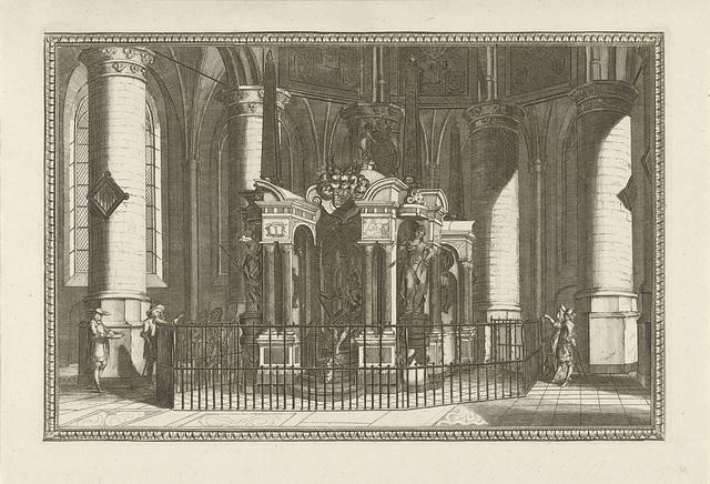 De graftombe van Willem van Oranje, 1623