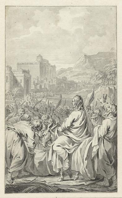 De intocht in Jerusalem