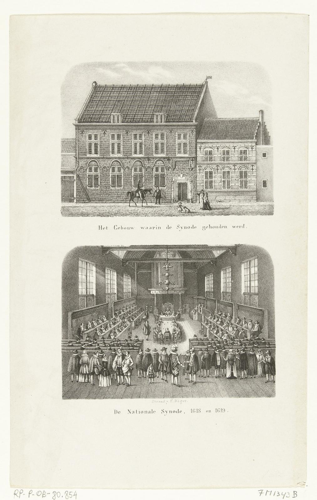 De Kloveniersdoelen te Dordrecht en de Nationale Synode, 1618-1619