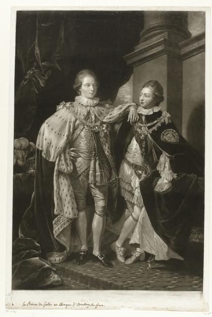 De oudste zonen van George III