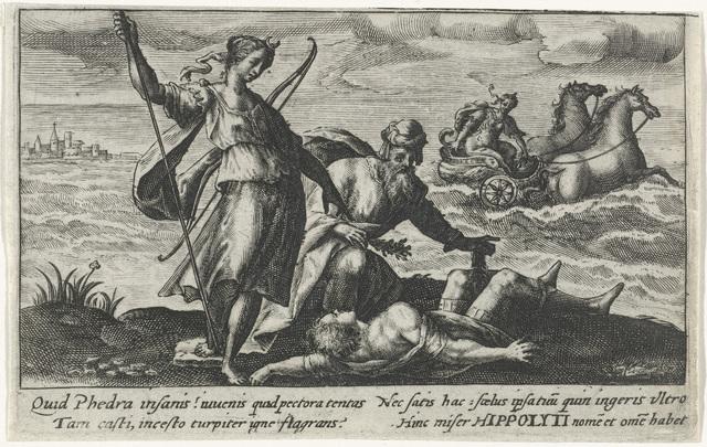 Diana en Aesculapius wekken Hippolytus weer tot leven