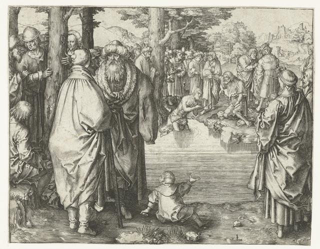 Doop van Christus in de Jordaan