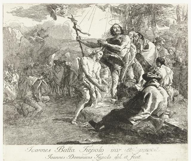 Doop van Christus in Jordaan