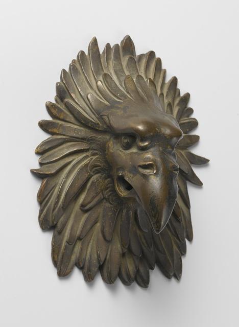 Door knocker in the form of an eagle's head