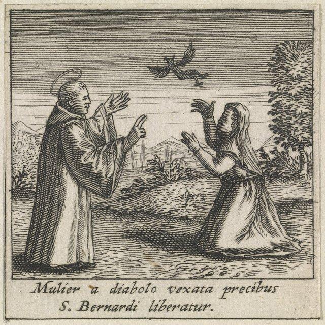 Bernhard Von Clairvaux Heiliger Picryl Public Domain Image