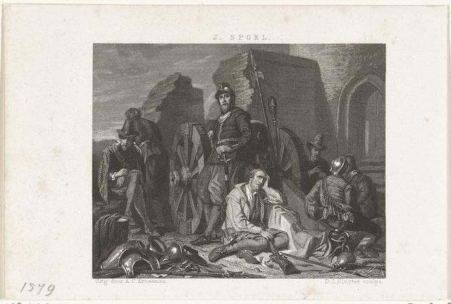 Episode uit het beleg van Maastricht, 1579