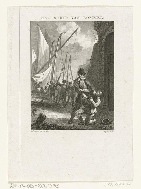 Episode uit het beleg van Zaltbommel, 1599